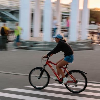 Парк Горького поддержит акцию «На работу на велосипеде»