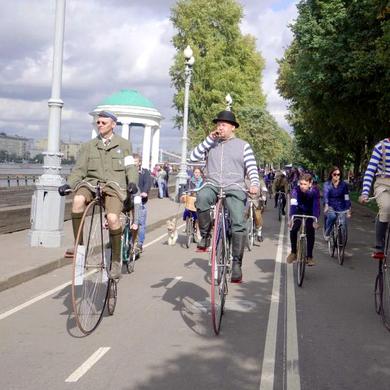 6-й Исторический Велопробег в Парке Горького