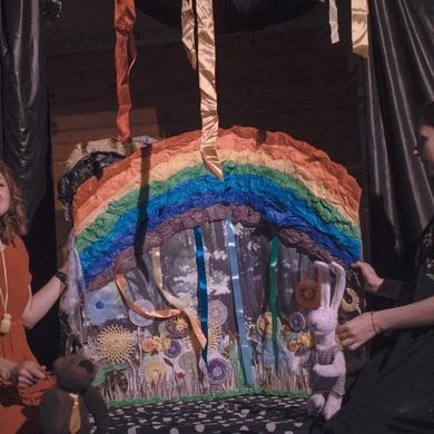 Выходные в «Зелёной школе»: детский спектакль «Приключения кролика»