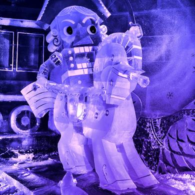 Выставка ледовых скульптур: «Буран» возвращается в Парк Горького