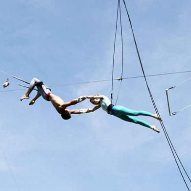 В Парке Горького открывается цирковая школа с трапецией