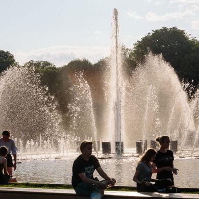 Время работы Фигурного фонтана
