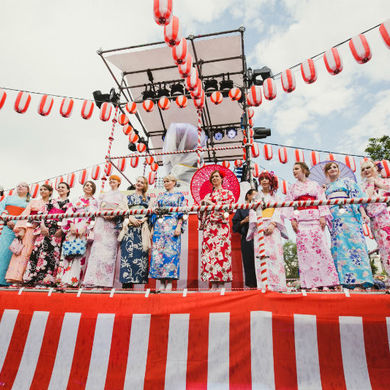 Косплей, фукувараи, ханэцуки и другие японские развлечения - фестиваль  J-FEST Summer в Парке Горького