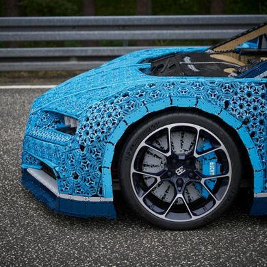 В Парке Горького покажут Bugatti Chiron собранный из кубиков LEGO