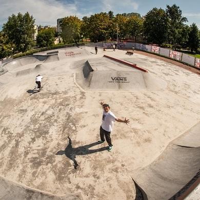 Дождались – в Парке Горького открывается скейтпарк!