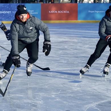 Зимние тренировки в Парке Горького с Nike Box MSK
