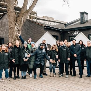 Парк Горького запускает проект «Крылатые соседи»!