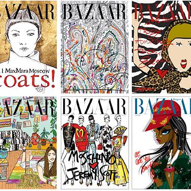 Фотовыставка и конкурс к юбилею Harper's Bazaar