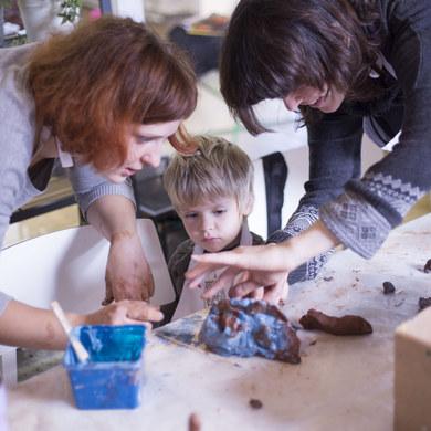 Детская гончарная мастерская (6+)