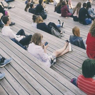 Открытые лекции журфака МГУ в Парке Горького