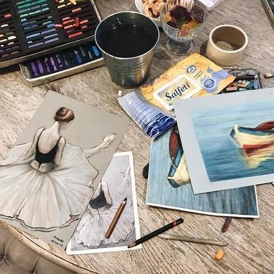 Уроки живописи с Draw&Go