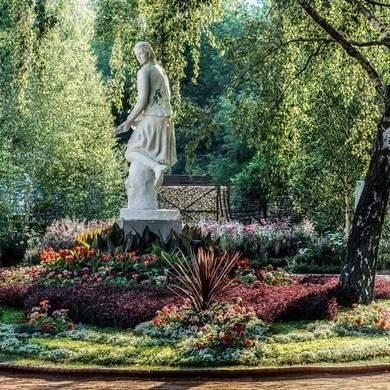 Выставочный сад «Партизанка» Парка Горького получил золотую медаль на Moscow flower show