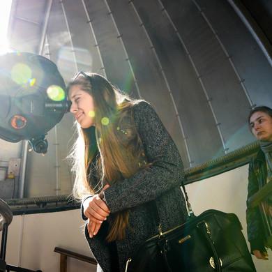 Ночные пленэры в Обсерватории Парка Горького