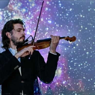 Концерт «Space & Music» на крыше Музея Парка Горького