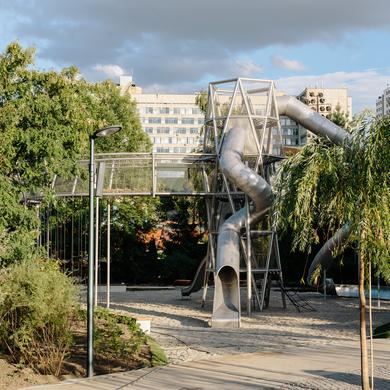 В Парке Горького появится уникальная игровая площадка «Салют»