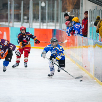 Day of winter sports in the Park