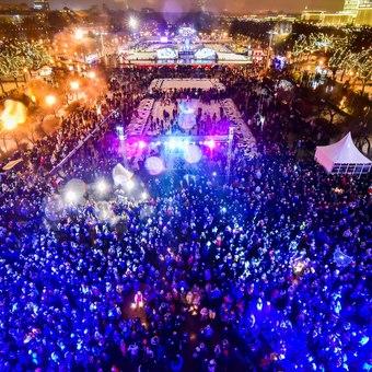 Новый 2017 год в Парке Горького