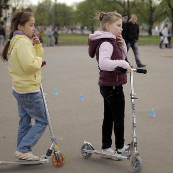 Открытие сезона в Парке Горького