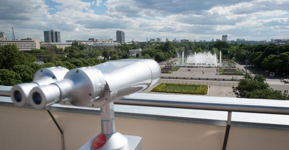 Смотровая площадка на крыше Главного Входа