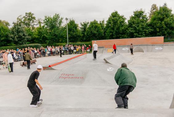 Скейтплощадка VANS OFF THE WALL SKATEPARK