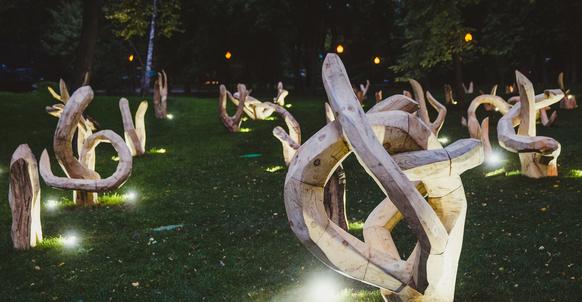 Инсталляция Signet Николая Полисского