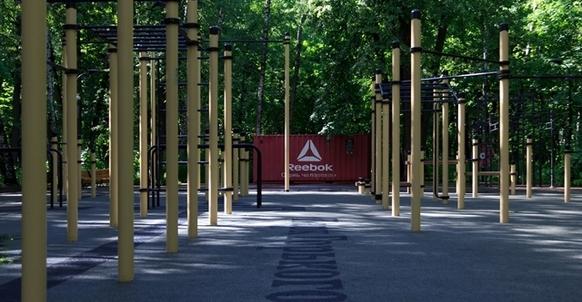 Workout площадка в Нескучном саду