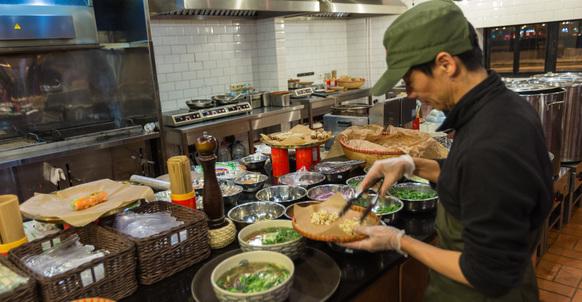 Ресторан вьетнамской кухни Bổ