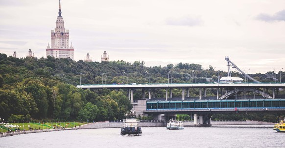 Luzhnetsky Metro Bridge