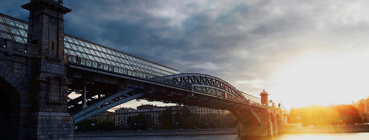 Andreevsky pedestrian bridge
