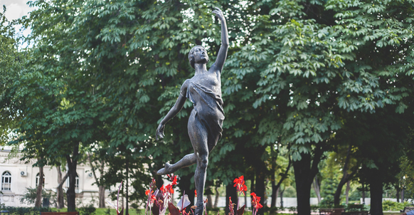 Ballerina Sculpture