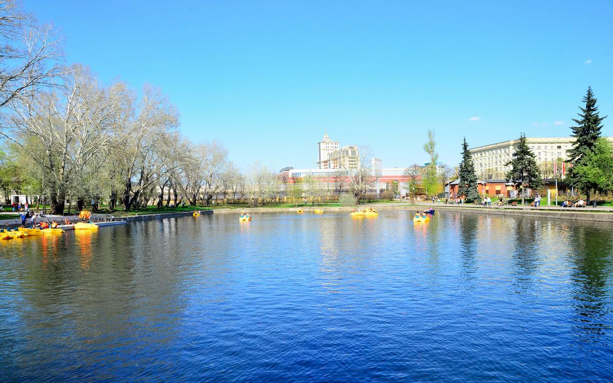 знакомств горького москве парк в места